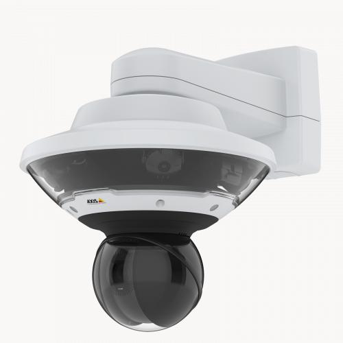 AXIS Q6100E - mounted on wall