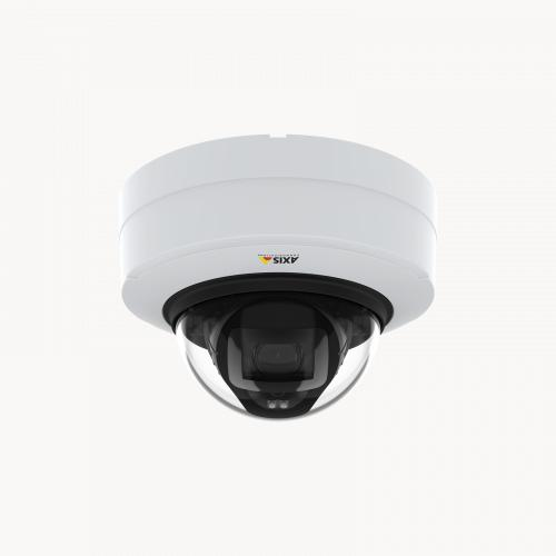 AXIS P3248-LV Network Camera, viewed from its front