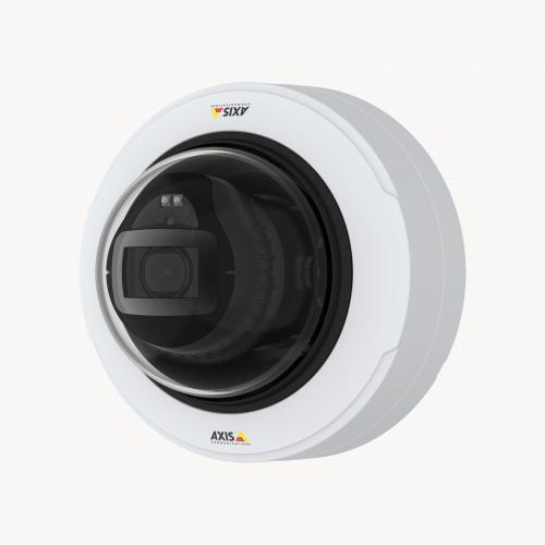 AXIS P3248-LV Network Camera, viewed from its left angle