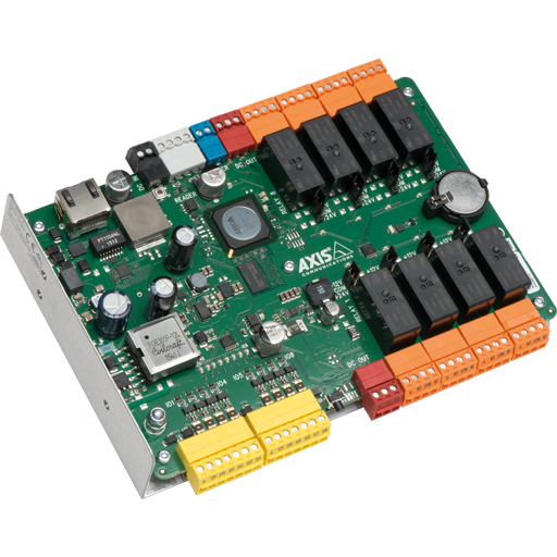 Network I/O relay modules