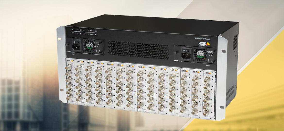 AXIS Q7920 Network Video Encoder Chassi
