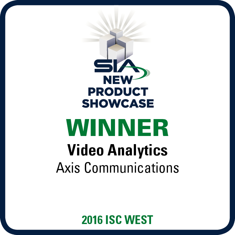 Axis communications - Video analytics ISC west 2016