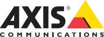 Axis logotype in color on white background