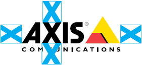 Axis logotype with space and appearance rules