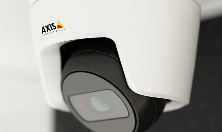 Closeup of an AXIS M31 Network Camera