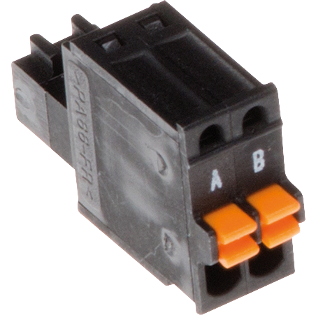 AXISConnector a 2 pin 2.5 Straight