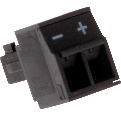 AXIS Connector A 2-pin 3.81 Straight