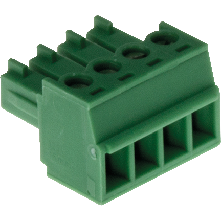 AXIS Connector-A-4-pin-3-81