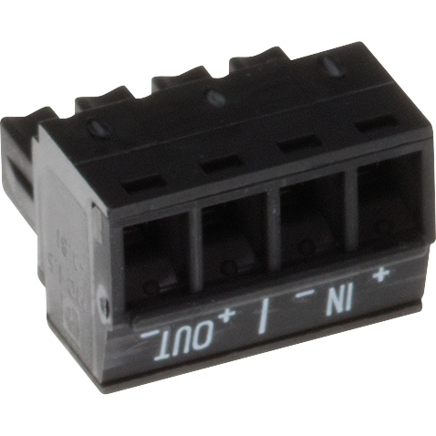 AXIS Connector A 4-pin 3.81 Straight IN/OUT