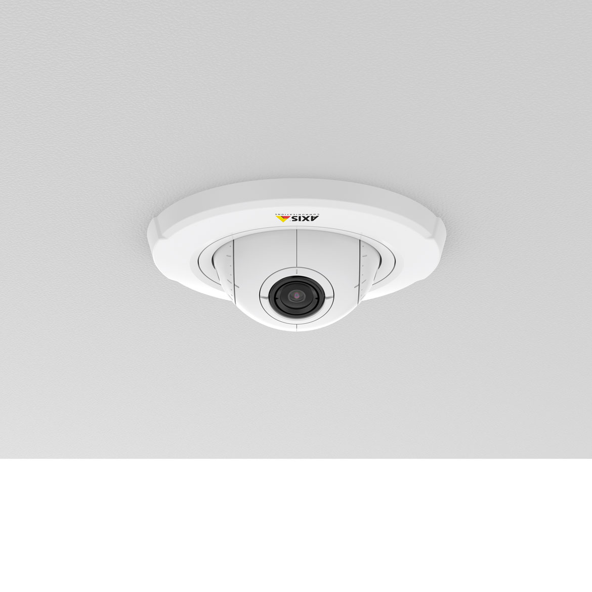 AXIS F4005 mounted in ceiling