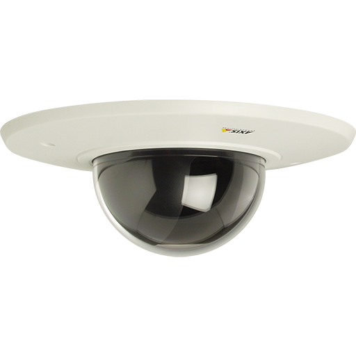 Fixed dome camera drop ceiling mount