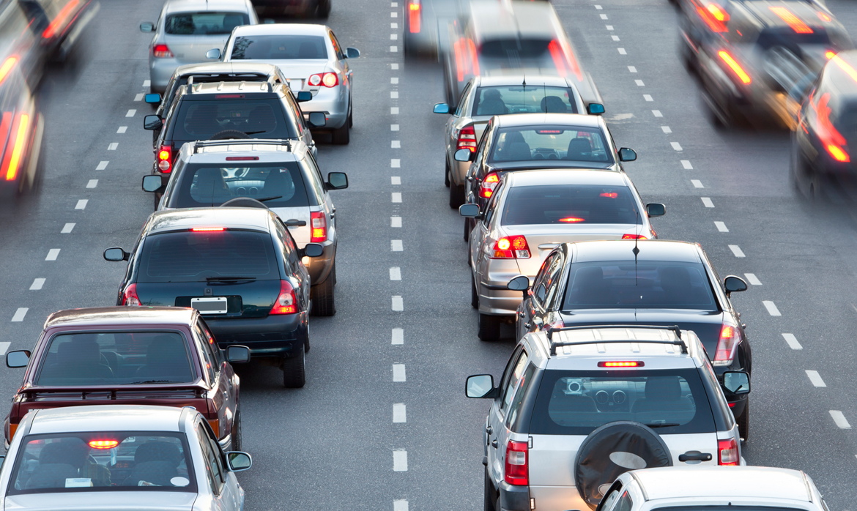 kø og trafik