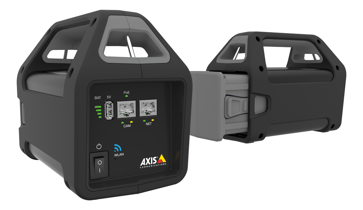 AXIS T8415 Wireless Installation Display Battery open