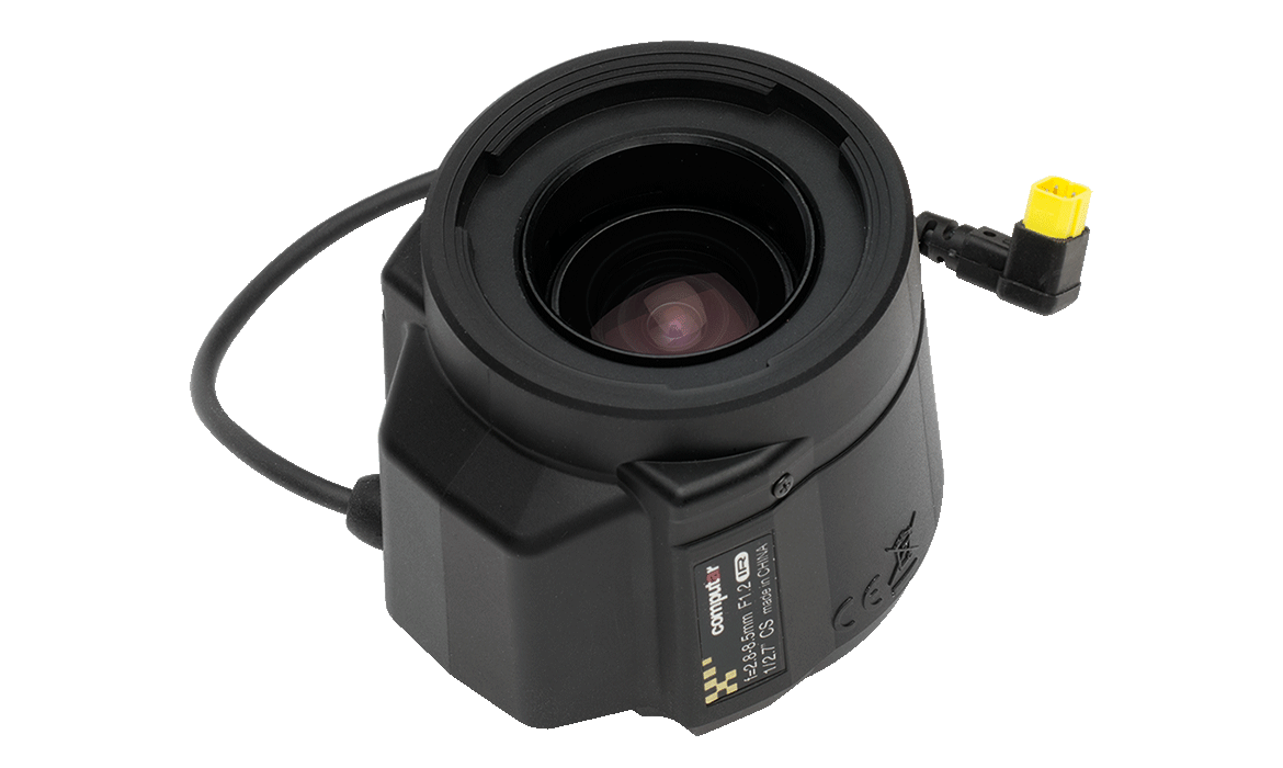 Intelligent CS-mount lenses