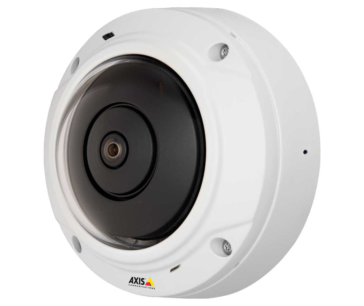 AXIS M3037-PVE Wall mounted left