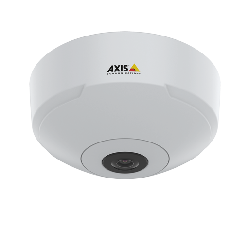 AXIS M3067-P IP Camera in ceiling from front
