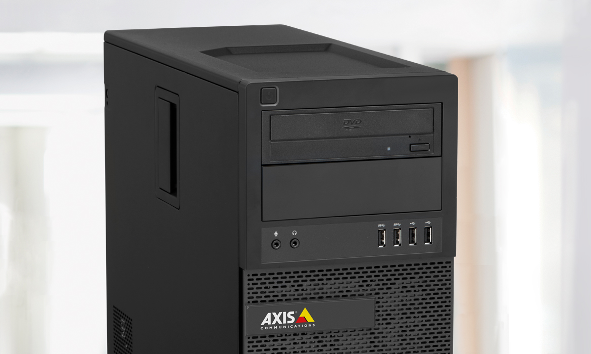 Axis network video recorders