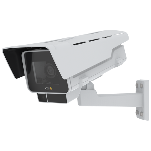 AXIS P1378-LE IP Camera has Electronic image stabilization and is viewed from its left angle.
