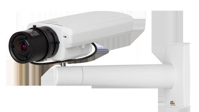 AXIS P1354 Network Camera - wall mounted