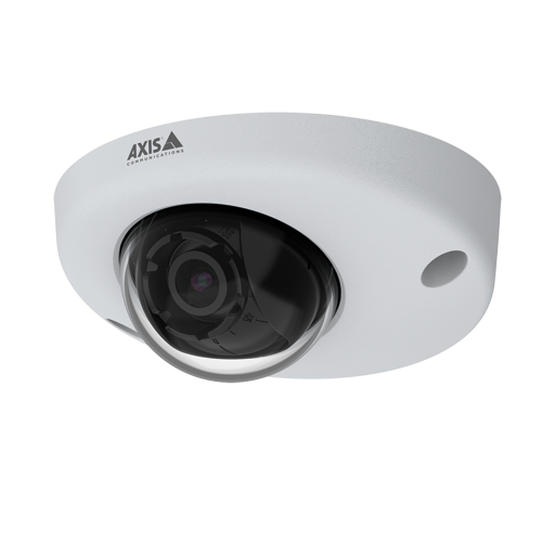 AXIS P3925-R Network Camera, viewed from its left angle