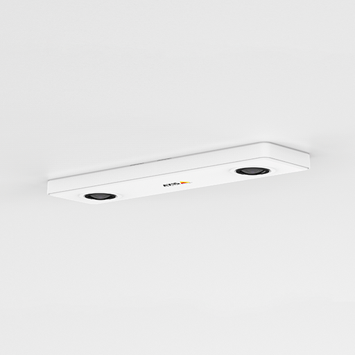 AXIS P8804 recessed in the ceiling