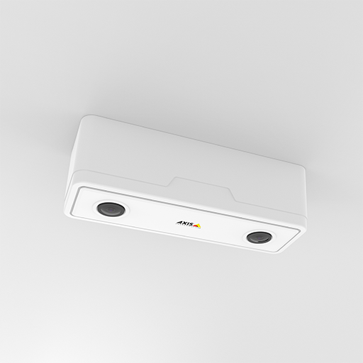 AXIS P8804 surface mounted in the ceiling