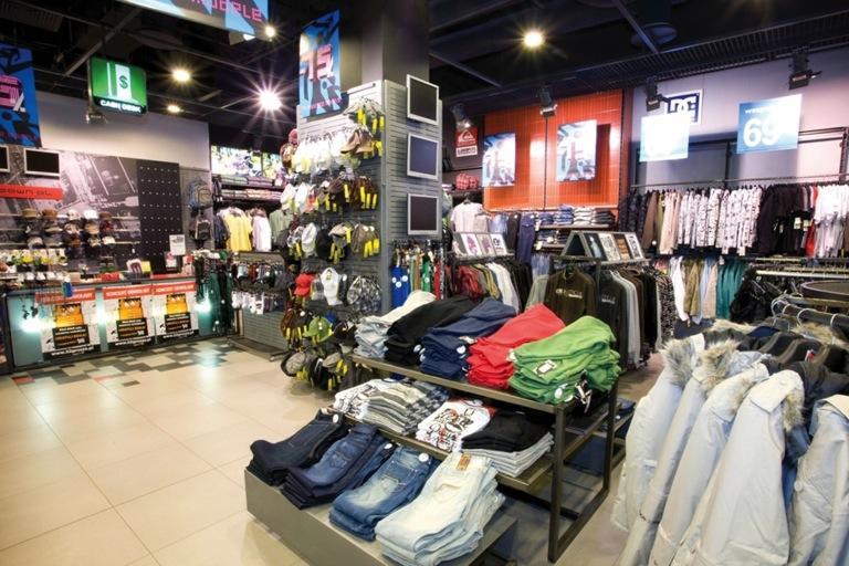 Intelligent Fashion Shop Network Video Surveillance Axis