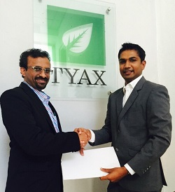 Axis Communications Signs TYAX (Private) Ltd  as Distributors for