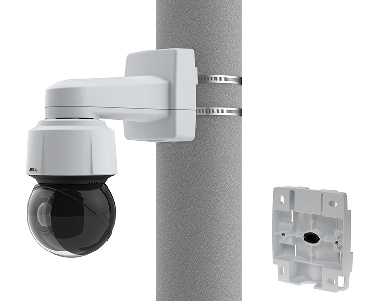 AXIS T91L61 Wall-and-Pole Mount | Axis Communications