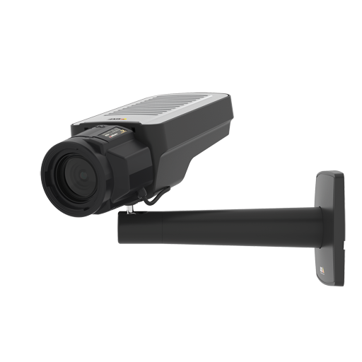 AXIS Q1615 Mk III IP camera has Lightfinder 2.0 and Forensic WDR. The product is viewed from its left angle.