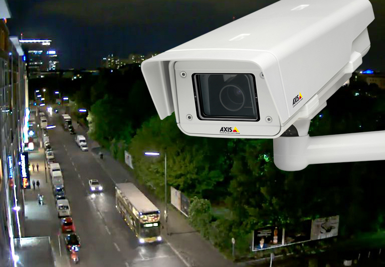 Axis Q1602-E Network Camera with lightfinder