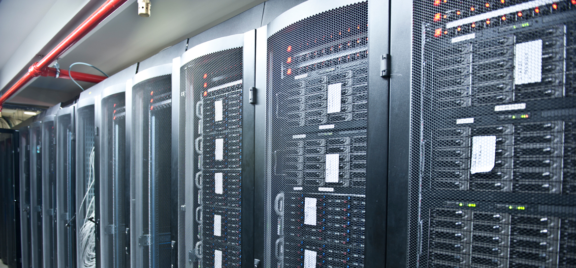 Servers in data center