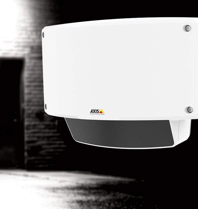 The AXIS D2050-VE complenents your video surveillance system, using advanced radar technology to detect  breaches.