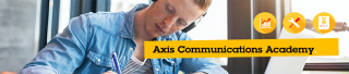 Axis Communications academy banner