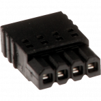 AXIS Connector A 4-pin 2.5 Straight