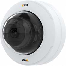 Axis Communications P3301 IP Black Housing Network Camera with 2-Way Audio