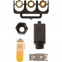 RJ45 connector push pull plug | Axis Communications
