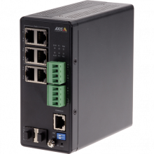 AXIS T8504-R Industrial PoE Switch | Axis Communications