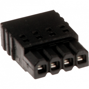 AXIS Connector A 4 pin 2.5 Straight | Axis Communications