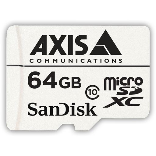 AXIS Surveilliance Card 64 GB