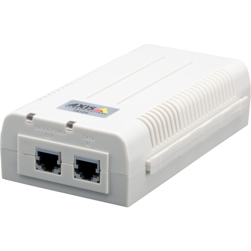AXIS T8125 AC 24 V Midspan 60 W 1-port