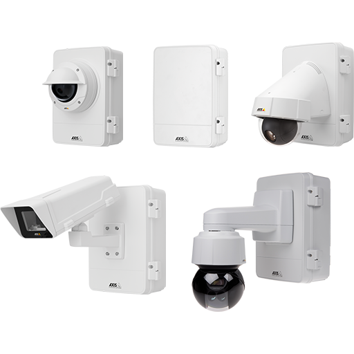 Five different models (network camera not included)