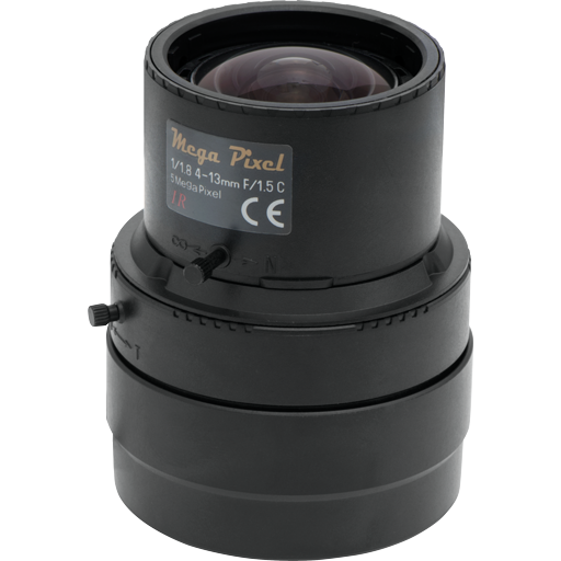 Tamron Varifocal 5MP Lens 4-13mm, DC-iris & C-mount