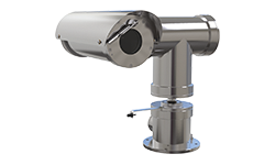 Stainless steel and network video cameras